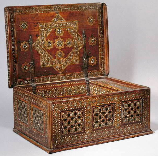 scribe's chest Aga Khan Museum