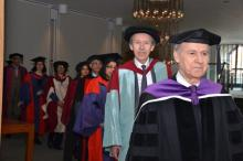 Professor Abdou Filali-Ansary to deliver Commencement Address at Secondary Teacher Education Programme Graduation Ceremony, 2015