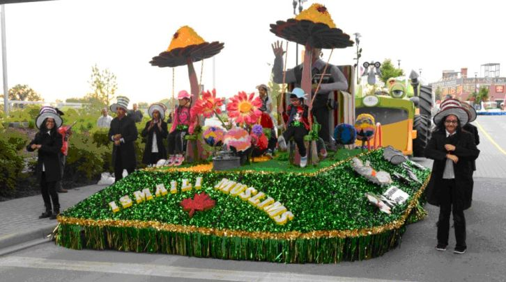 The Ismaili Muslim Community Float 2014 - In Partnership with Boys and Girls Club of Calgary