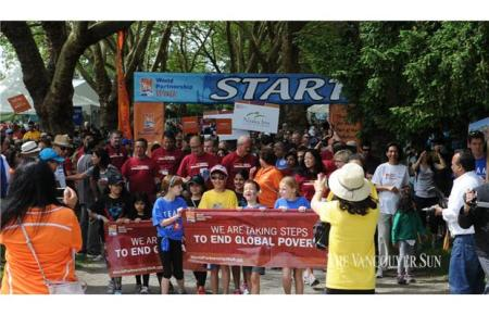 The Vancouver Sun: World Partnership Walk unites to end global poverty