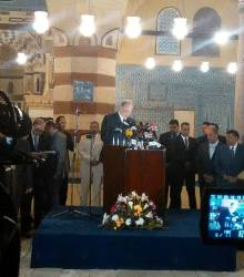 "Sawiris Foundation for Social Development :: SFSD Attends the Opening Ceremony of the ""Blue Mosque"" in the Presence of Prince Karim Aga Khan"