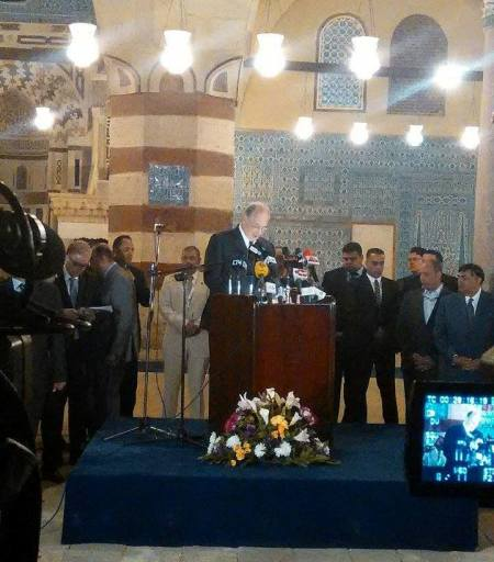 """Sawiris Foundation for Social Development :: SFSD Attends the Opening Ceremony of the """"Blue Mosque"""" in the Presence of Prince Karim Aga Khan"""