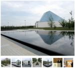 Contemplating Aga Khan Park The green link of the Aga Khan cultural complex officially opens. (Image via Torontoist)