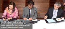Aga Khan University Karachi to train Health Department officials
