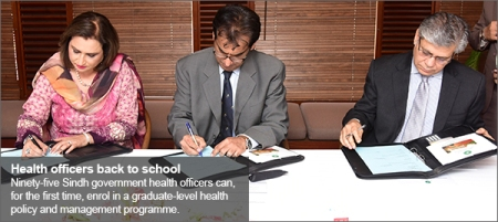 Aga Khan University Karachi to train Health Department officials