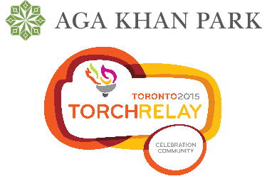 PAN AM LANTERN BEARER at the Aga Khan Park