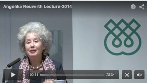 Lecture with Professor Angelika Neuwirth - A Leading Scholar in Qur'anic Studies