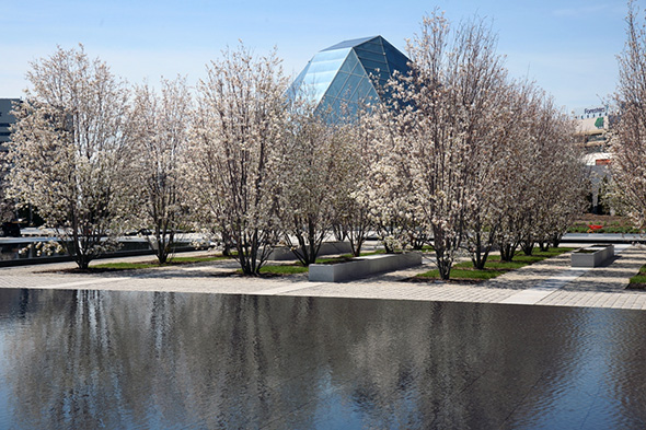 Aga Khan Park - Now open to the public (Image credit: Moez Visram, Janet Kimran, and Tom Arban via blog TO)