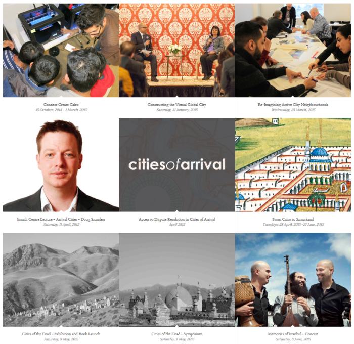 "Ismaili Centre, Toronto hosts ""Cities of Arrival"""