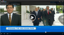 CTV News - Cultural campus - Aga Khan Park mixes art, spirit and nature