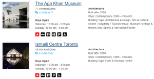 Doors Open Toronto - Aga Khan Museum and Ismaili Centre Toronto