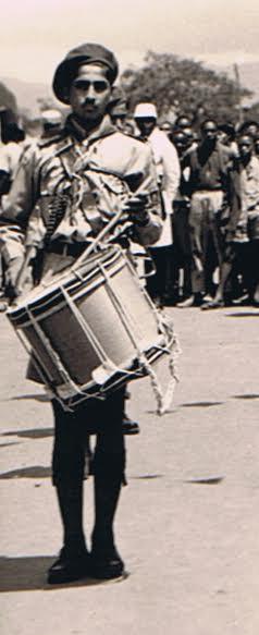 Firoz Kanji played drums in the Aga Khan Band in Arusha, Tanzania.