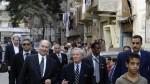 His Higness the Aga Khan at Darb al Ahmer Cairo