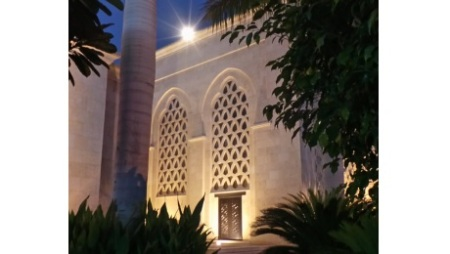 Glimpse of the Ismaili Centre, Dubai | Hussein Charania Photos