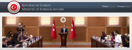 Turkey's Minister of Foreign Affairs condemns Karachi shooting and expresses condolences to the families of the affected. (Image via Minister of Foreign Affairs - Turkey)