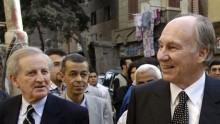 May 2015: His Highness the Aga Khan visits Cairo