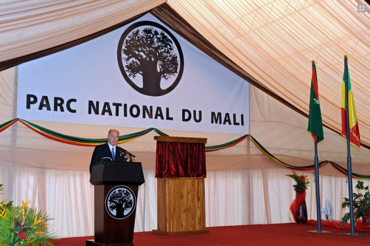 From Ismailimail archives: October 2010. Address by His Highness Prince Karim Aga Khan at the inauguration ceremony of the National Park of Mali
