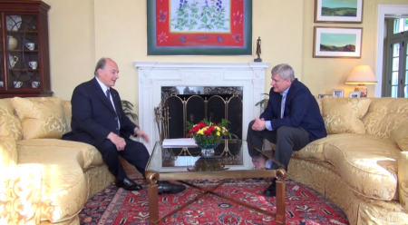 Video: His Highness the Aga Khan in conversation with Canadian Prime Minister, Stephen Harper