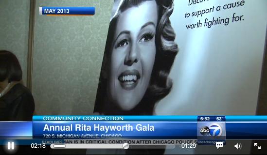 Alzheimer's Association hosts Rita Hayworth Gala in Chicago   abc7chicago.com