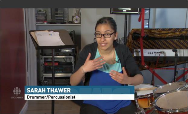The Drum Guru: Percussionist Sarah Thawer on CBC's My Toronto