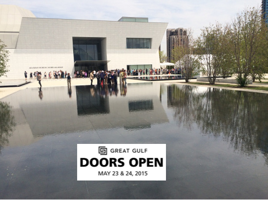 Simerg - An estimated 10,000 people Explore Aga Khan Museum and the Ismaili Centre, Toronto as part of the Doors Open Toronto Celebration