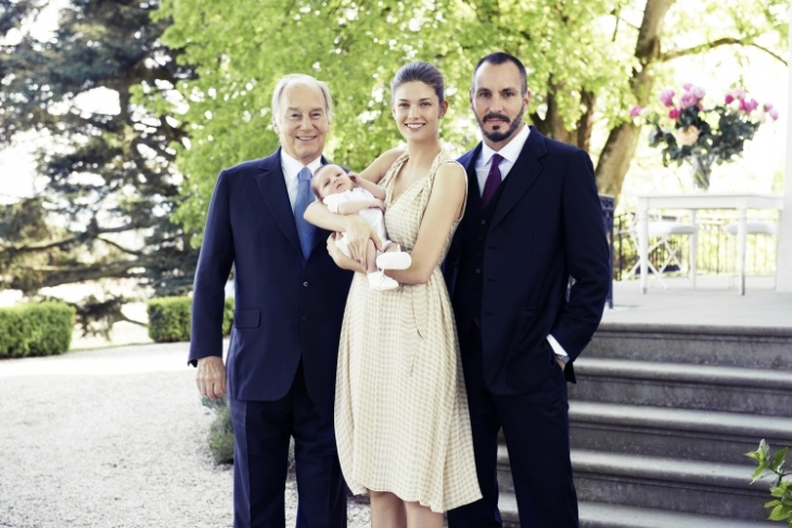 Prince Irfan, the first child of Prince Rahim and Princess Salwa