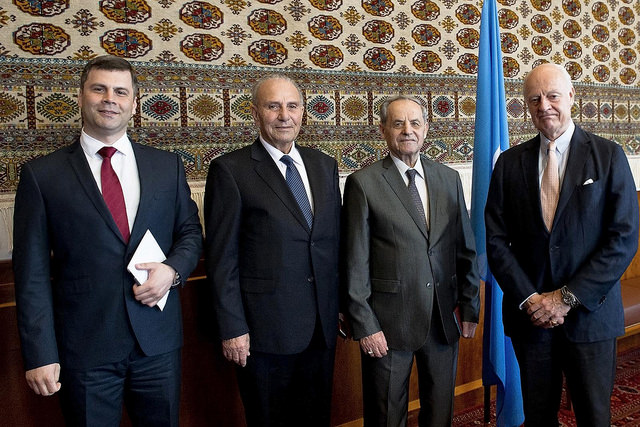 Delegation of Aga Khan Development Network at Geneva Consultations on Syria