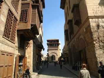 Muizz street in Cairo