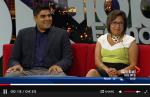 Arif Karmali and Naz Hasham on Global News talking about Partnership Walk in Canada