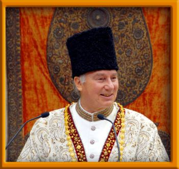 Alyna's favorite picture of His Highness Prince Karim Aga Khan (Image credit: Alyna Nanji)