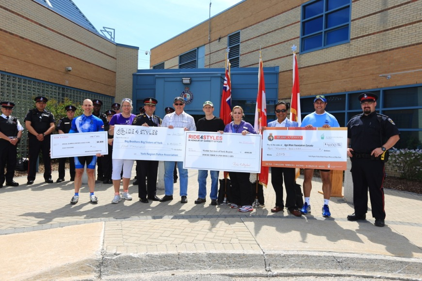 Detective Karim Bardai: York Regional Police - 5th Annual Ride4Styles Memorial Bike Ride