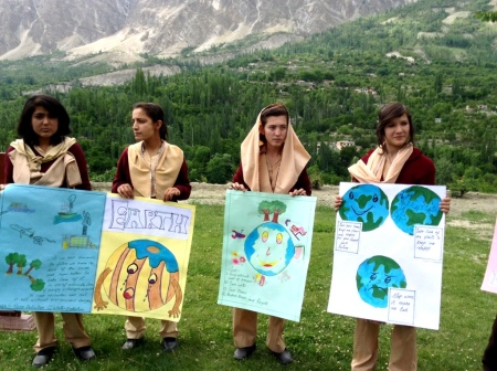 Hunza Serena Inn celebrates World Environment Day