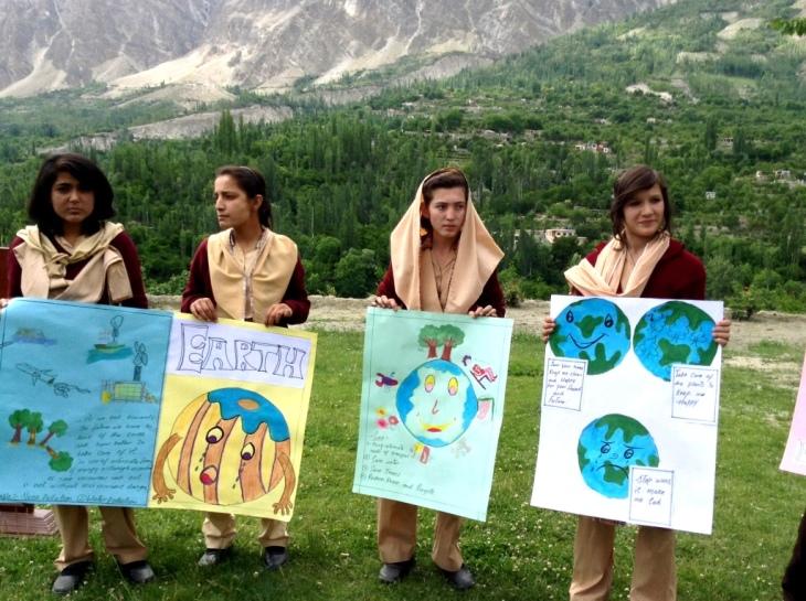 Hunza Serena Inn celebrates World Environment Day
