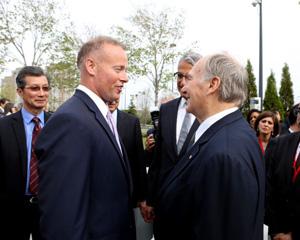 Toronto City Councillor Jon Burnside's Meeting with His Highness the Aga Khan