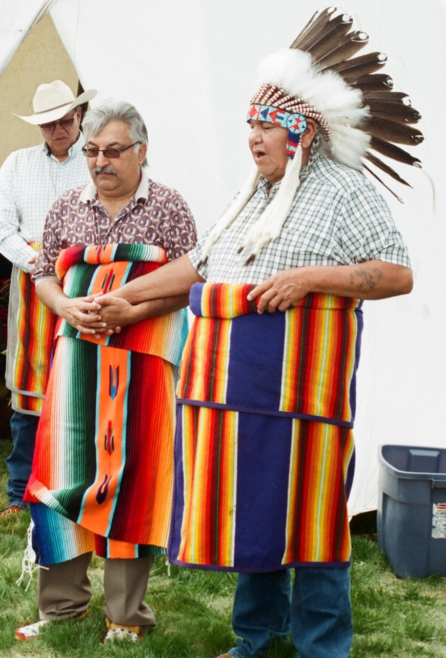 """First Ismaili ever to be """"honourary chief"""" of Tsuu T'ina tribe in Southern Alberta, Canada!"""
