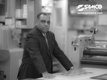 Sam Hirji of Samco Printers: Celebrating 30 years of partnership – committed to Ending Global Poverty