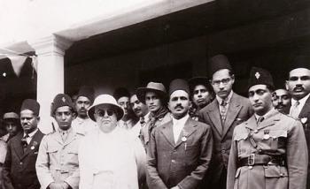 Sultan Mohamed Shah visiting Arusha.