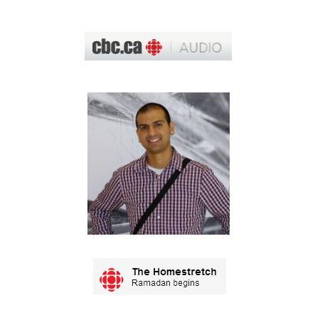 CBC Calgary Radio: Zaheed Hasham talks about the holy month of Ramadan