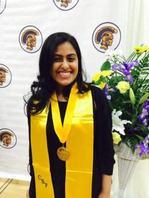 Zahra Surani: High School Valedictorian heads off to University of Southern California