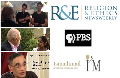 A special PBS show on the Ismailis: PBS speaks to Bollywood duo Salim-Sulaiman, One Billion Rising's Alyna Nanji & Harvard University's Professor Ali Asani