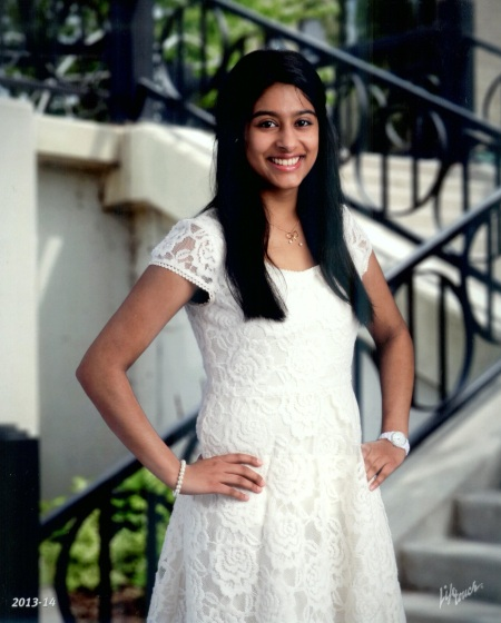 Arsheen Hamirani, 15, is a first place national winner, Future Business Leaders of America