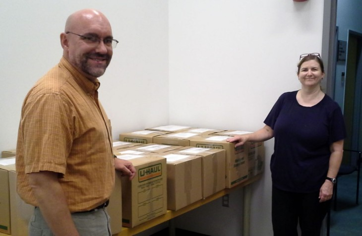 Aga Khan Documentation Center at MIT donates books to university in Morocco