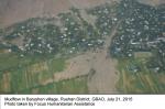 FOCUS and UN Humanitarian Efforts: Assessment on floods in Gorno-Badakhshan