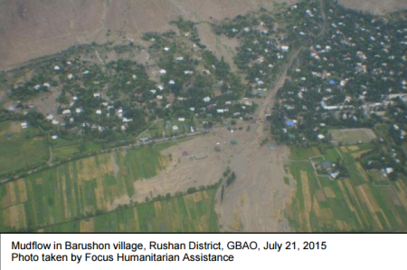 FOCUS and UN Humanitarian Efforts: Assessment on floods in Gorno-Badakhshan