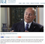 His Highness the Aga Khan and the Ismailis - Live on Religion & Ethics NewsWeekly July 31 2015 - Extended Interview