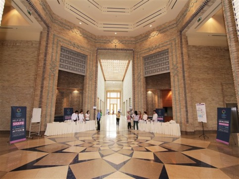 Ismaili Centre, Dushanbe hosts the World Humanitarian Summit - Registration Area