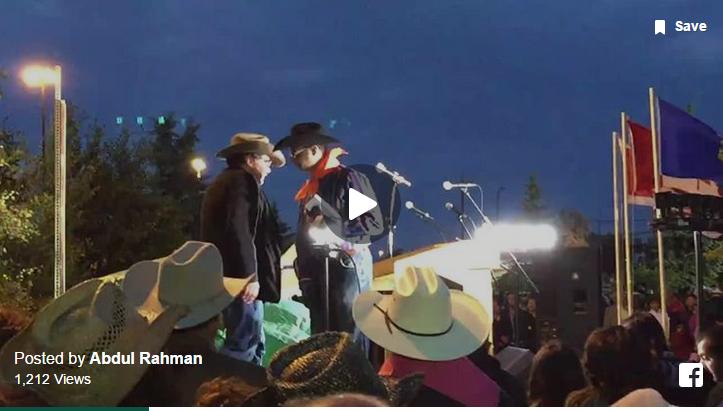 "Calgary's ""Best Mayor of the World"" Naheed Nenshi speaking at Sunset Breakfast/Iftar"