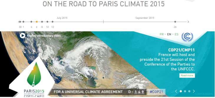 COP 21 - PARIS CLIMATE 2015