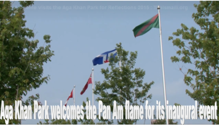 Aga Khan Park, Toronto: Reflection - Celebrating Our Cultures & Communities