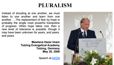 Quote Posters: Pluralism